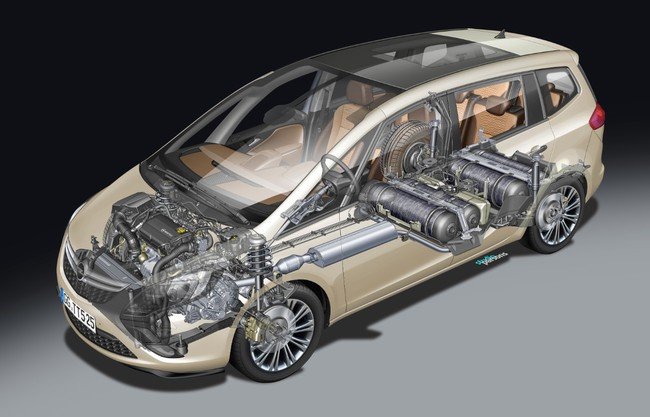 Opel Zafira Tourer GLP