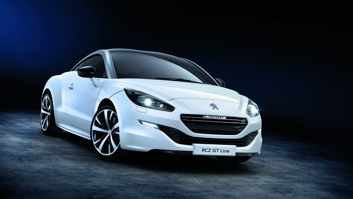 peugeot rcz gt line acabado m s deportivo antes. Black Bedroom Furniture Sets. Home Design Ideas