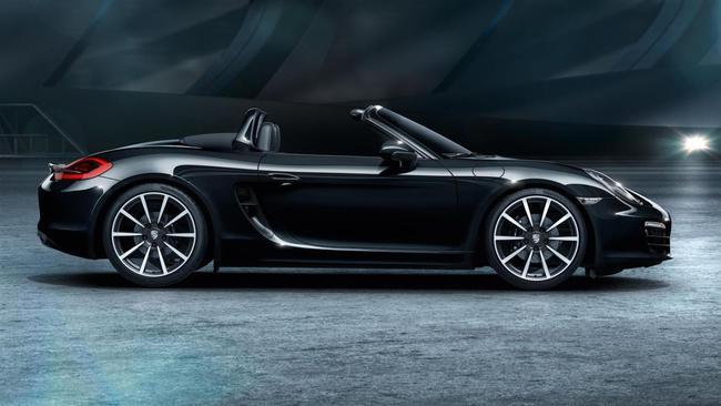 Porsche Boxster Black Edition 2015 01