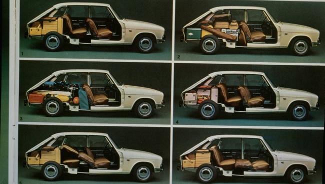 Renault 16 interior modular