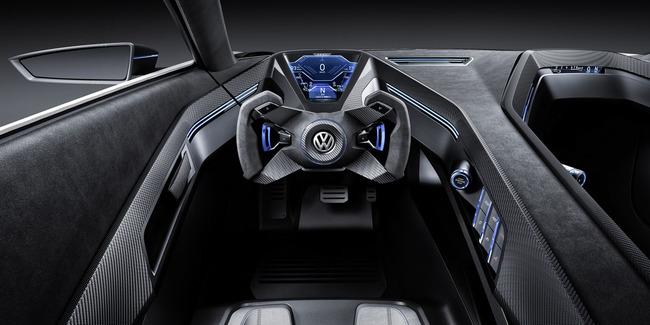 Volkswagen Golf GTE Sport Concept 2015 interior 02