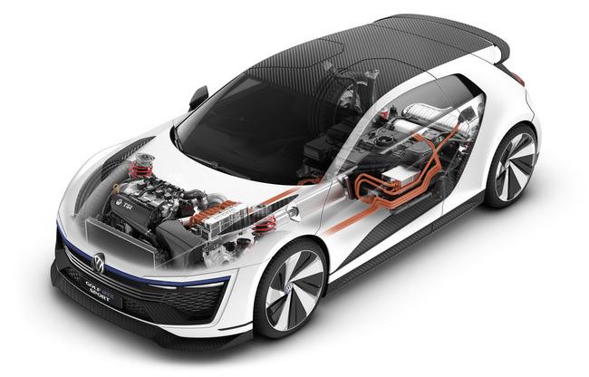 Volkswagen Golf GTE Sport Concept 2015 tecnica 02