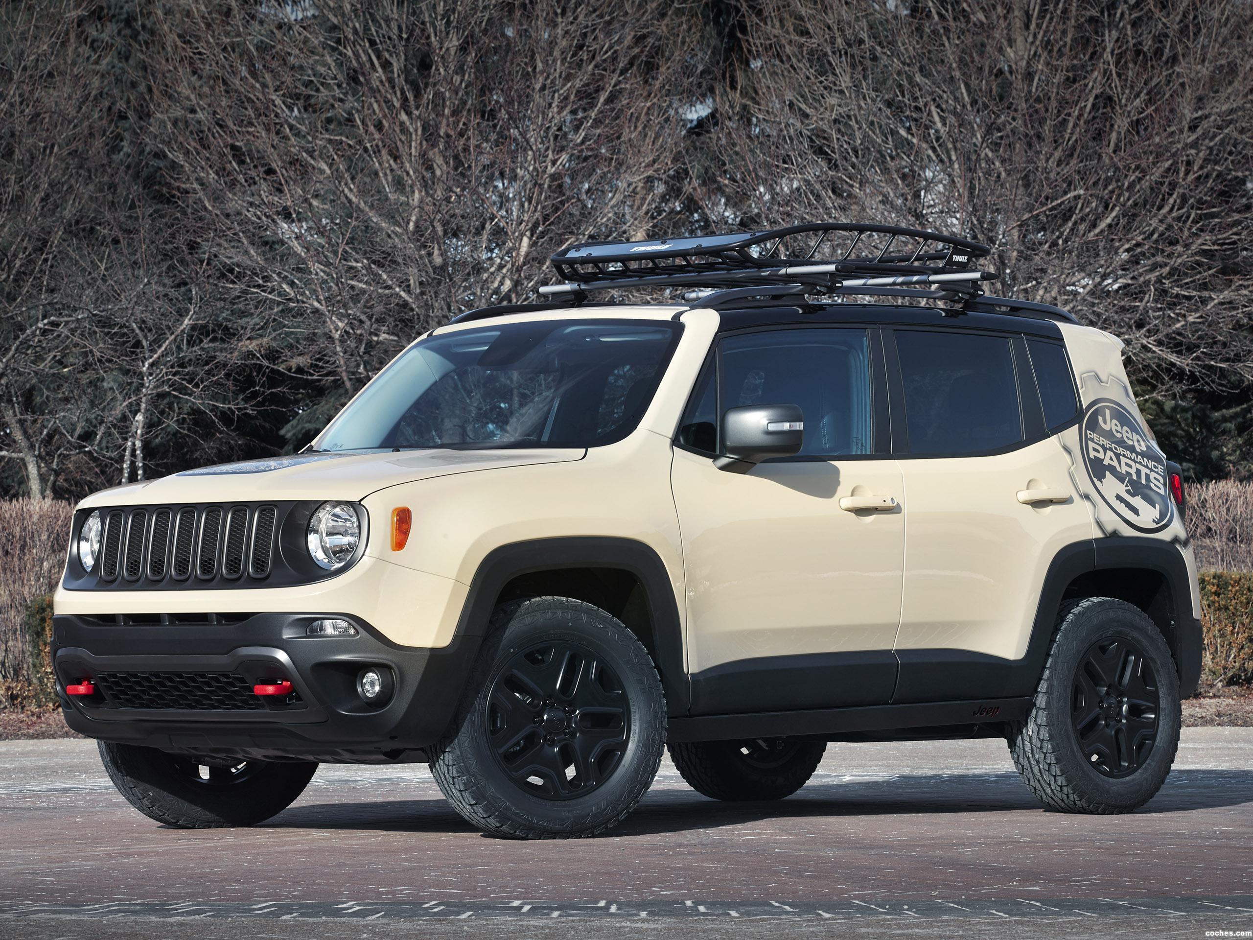 Jeep Renegade Desert Hawk >> Fotos de Jeep Renegade Desert Hawk Concept 2015