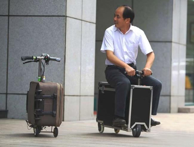 maleta rodante china
