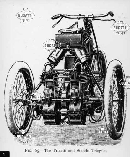 triciclo bugatti