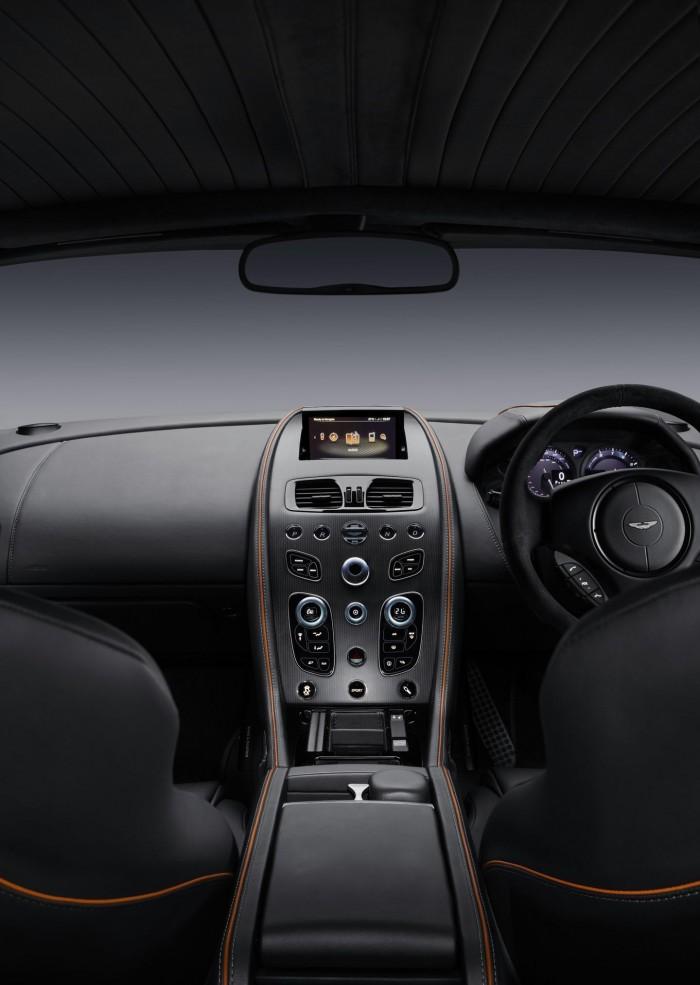 Aston Martin DB9 GT 2015 interior 01