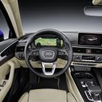 Audi A4 2015 interior 01