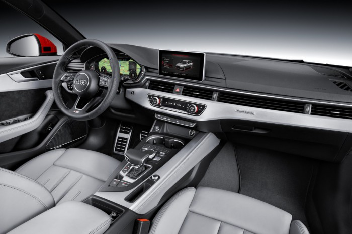 Audi A4 2015 interior 03