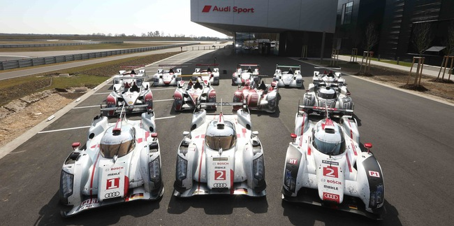 Audi Le Mans ganadores
