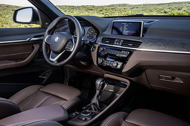 BMW X1 2016 interior 07