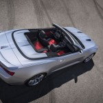 The 2016 Chevrolet Camaro convertible benefits from a stiffer, lighter structure that helps reduce total vehicle weight by at least 200 pounds compared to the model it replaces. In addition, it introduces the most sophisticated convertible top in the segment, with fully automatic operation, hard tonneau cover, and the ability of opening or closing at speeds up to 30 mph.