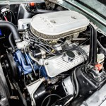 Ford Shelby Mustang GT500 1967 motor 01