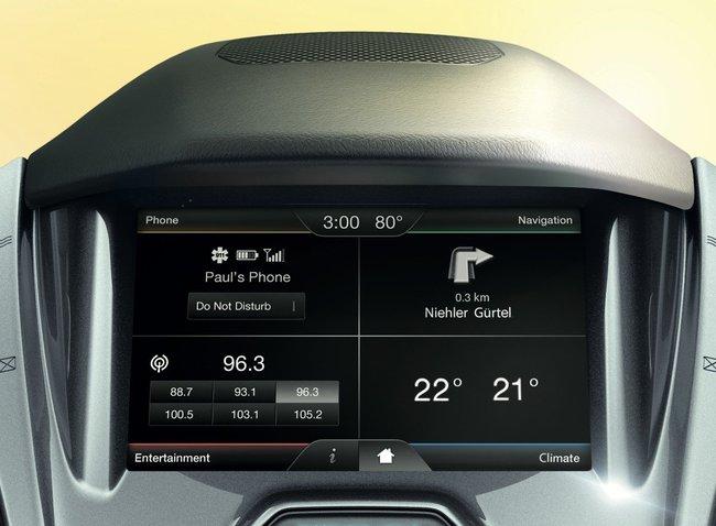 Ford Tourneo Connect 2016 detale interior tecnologia