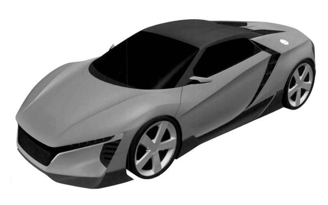 Honda baby NSX patente 2015 02