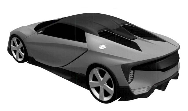 Honda baby NSX patente 2015 03