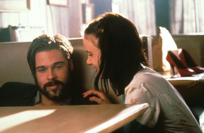 KALIFORNIA, from left: Brad Pitt, Juliette Lewis, 1993, © Gramercy Pictures