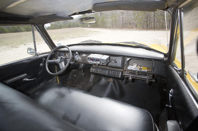 New York Checker Marathon Taxi 1978 interior 03