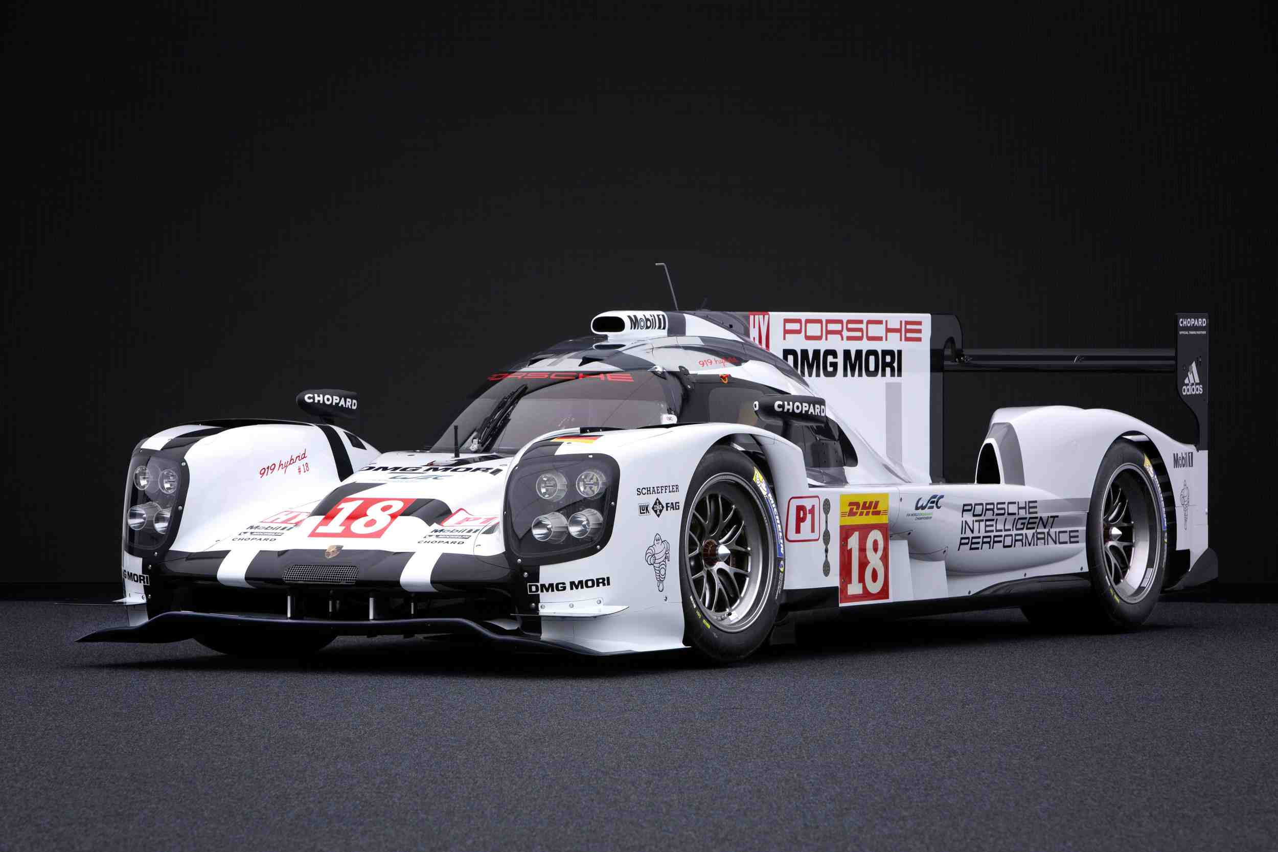 le mans 2015 porsche 919 hybrid al acecho. Black Bedroom Furniture Sets. Home Design Ideas