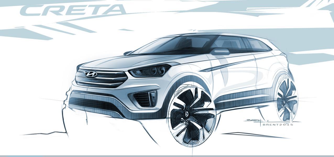 Hyundai Creta primera imagen