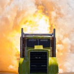 Shockwave Jet truck at Toronto Motor Sports Park 2013. Chris Darnell has permission to use this image on their Media page and or enlarged on the side of their shockwave Trailer. No other rights are granted without express written permission from John Marechal.