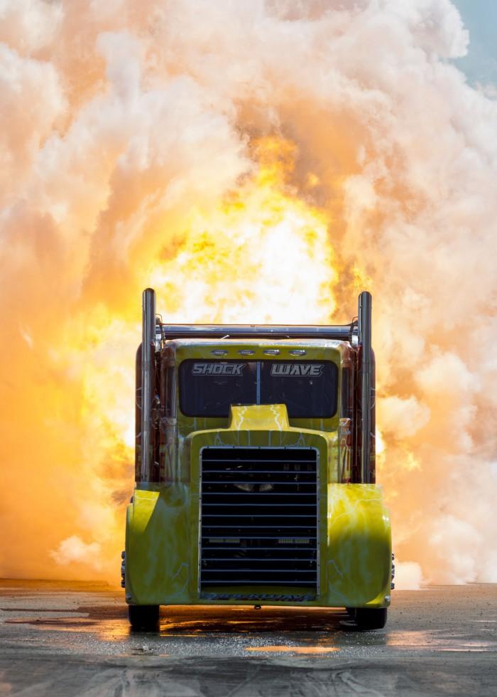 Shockwave Jet Truck en Toronto 2013