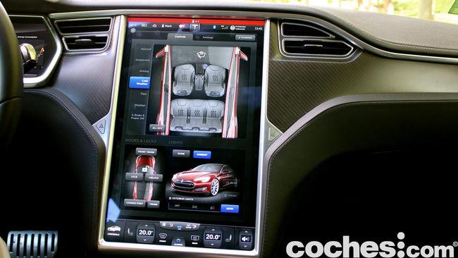 Tesla Model S prueba 2015 13
