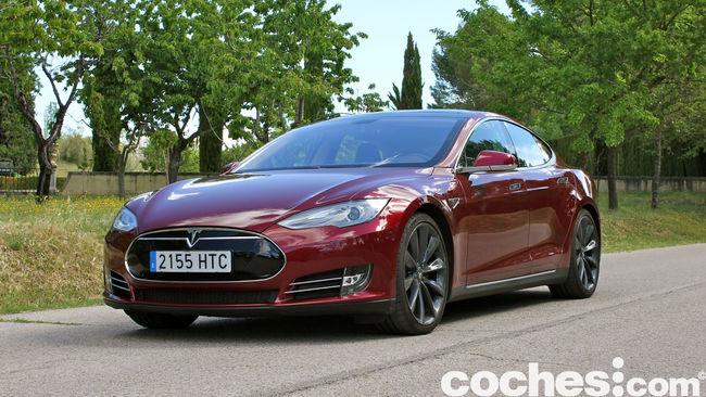 Tesla Model S prueba 2015 29