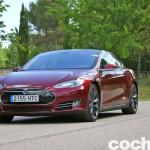 Tesla Model S prueba 2015 30