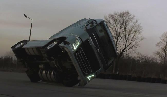 camion Volvo FH dos reudas