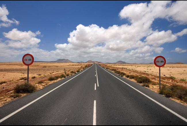carretera lanzarote
