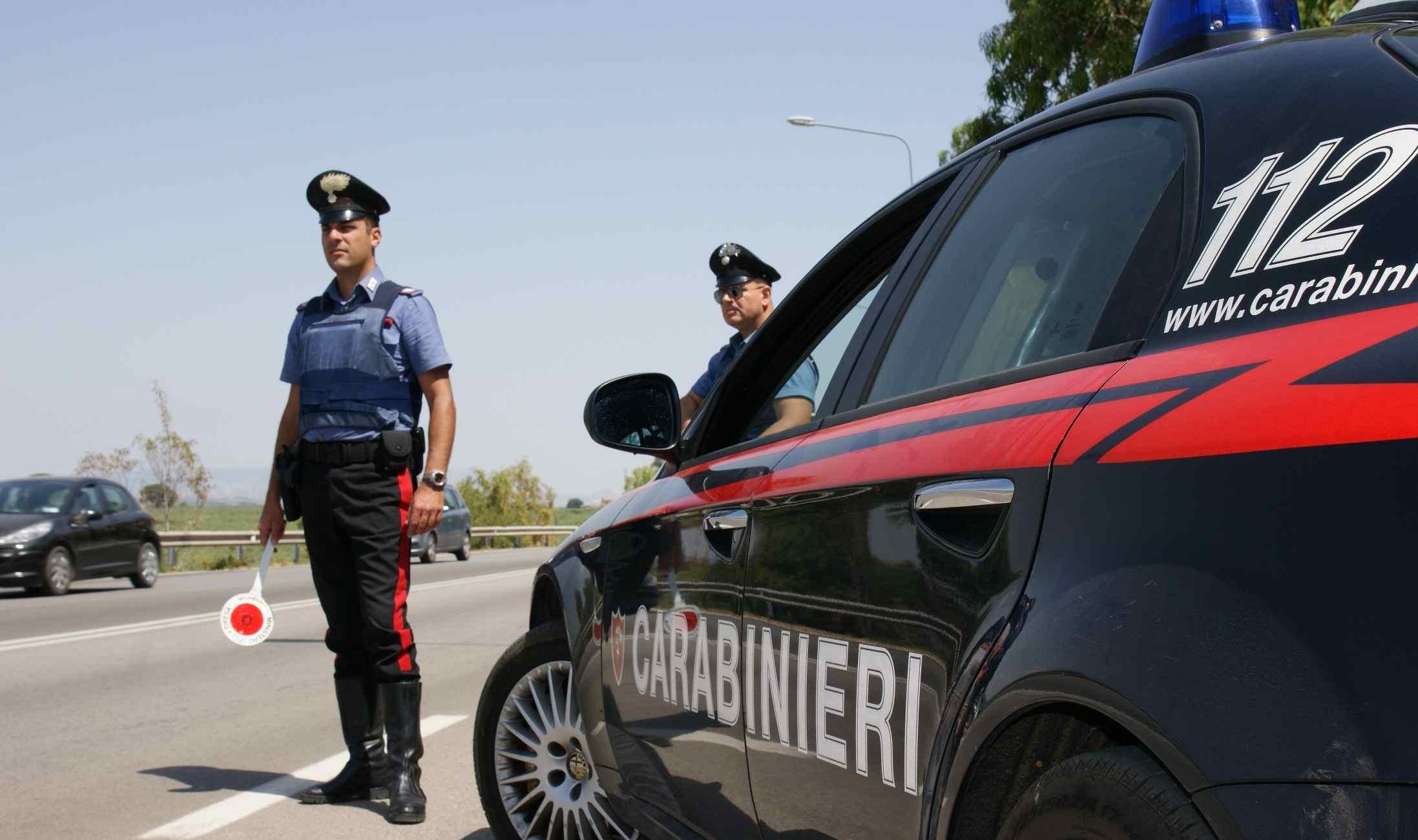 Carabinieri policia italiana