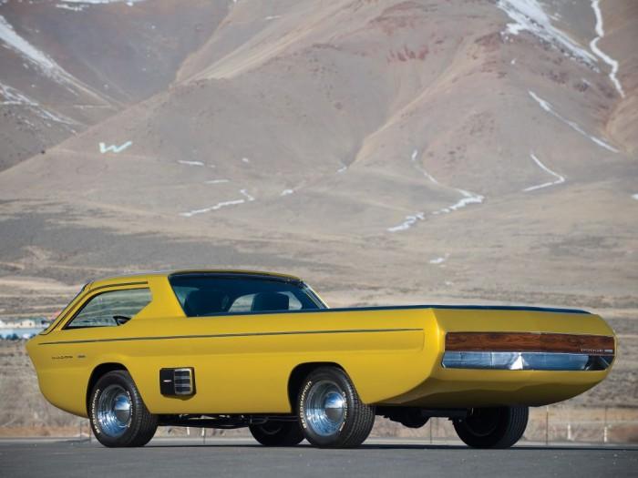 Dodge Deora pickup Concept 1965 02