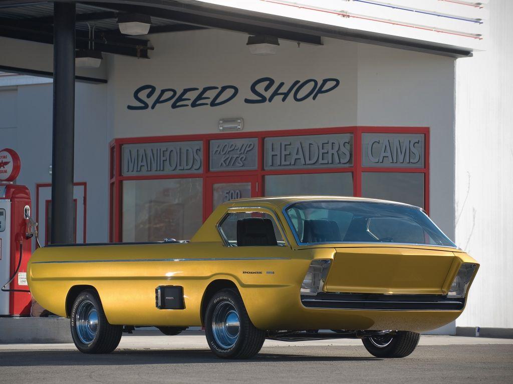 Dodge Deora pickup Concept 1965 03