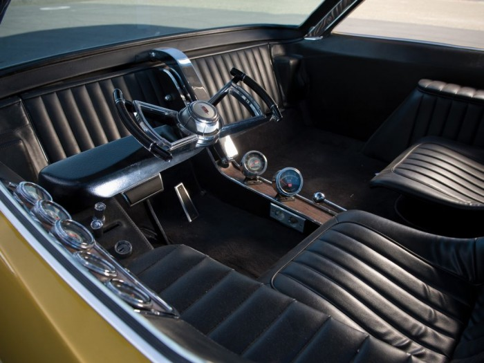 Dodge Deora pickup Concept 1965 interior 03