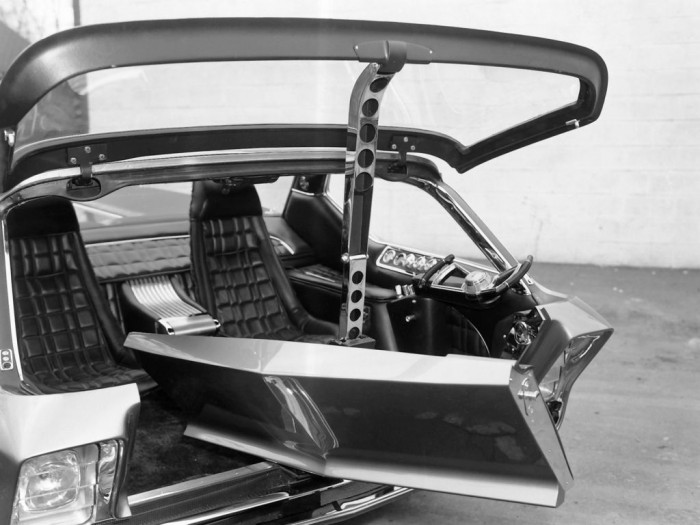 Dodge Deora pickup Concept 1965 interior 04