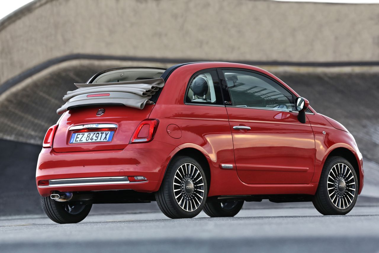 Fiat 500C 2015 estático