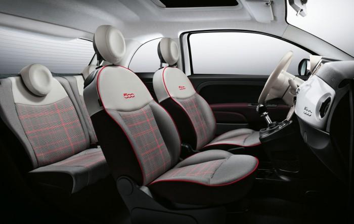 Fiat 500 2015 interior 01