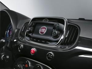 Fiat 500 2015 interior  08