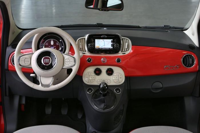 Fiat 500C 2015 salpicadero