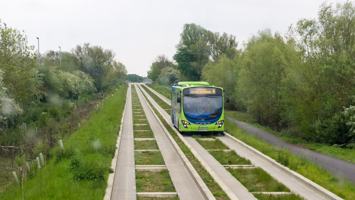 Guided Busway Cambridgeshire