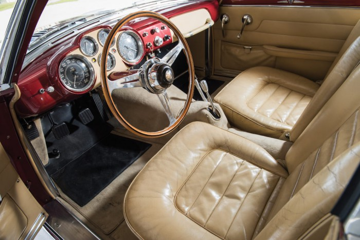 Jaguar XK120 SuperSonic by Ghia 1953 interior 02