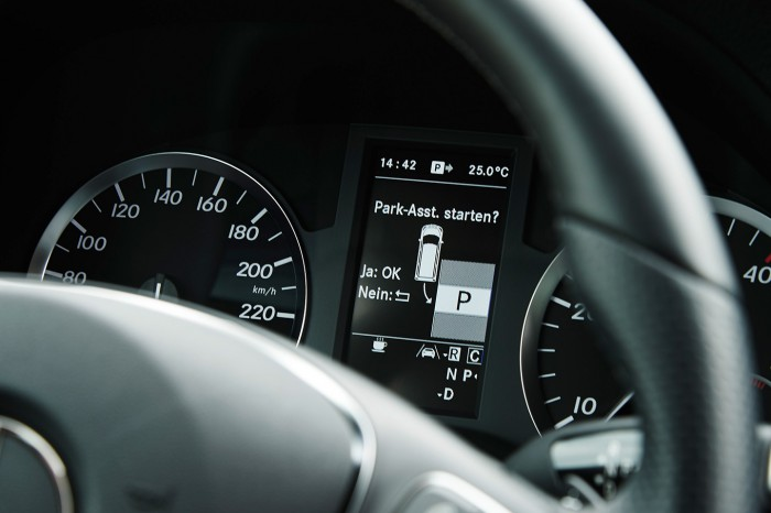 Mercedes Clase E 2016 Parking Assist