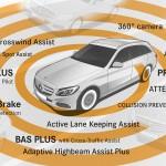 Mercedes Clase E 2016 tecnologia