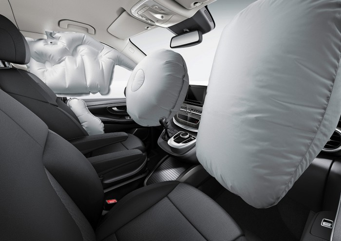 Mercedes Clase E airbag