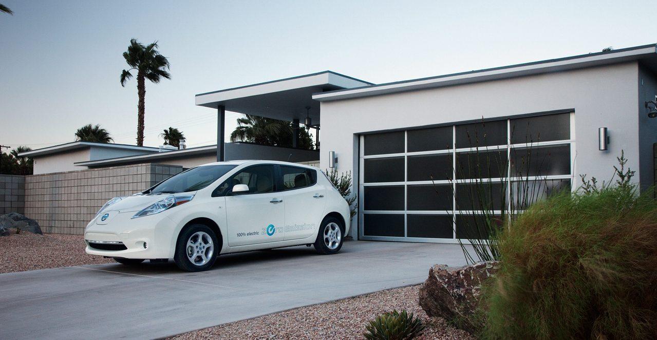 Nissan Leaf recarga baterias casa