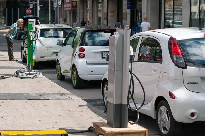 Red de carga coche eléctrico