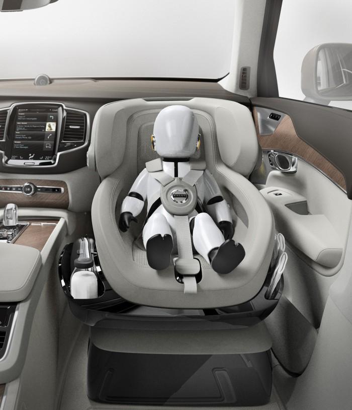 Volvo Asiento Bebé 05