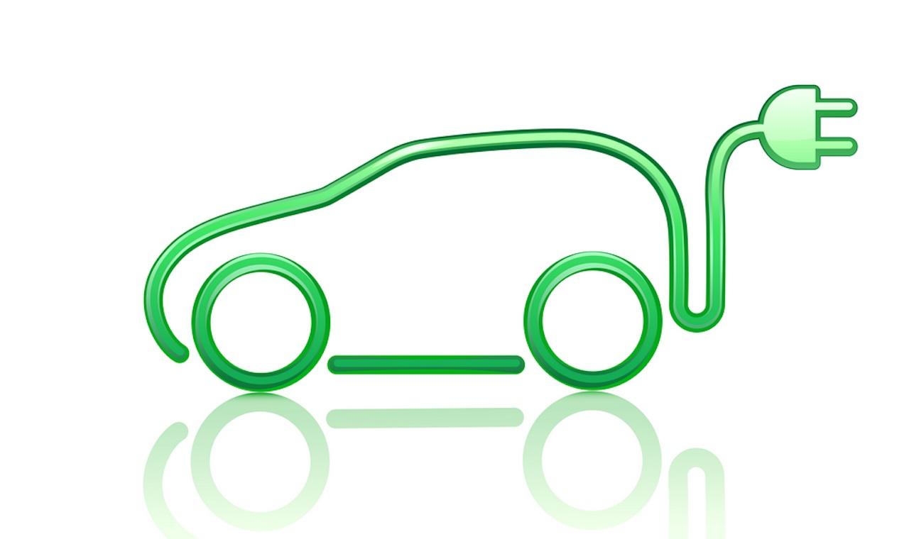 coche electrico simbolo