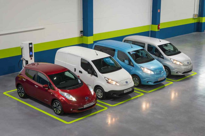 gama coches electrticos Nissan
