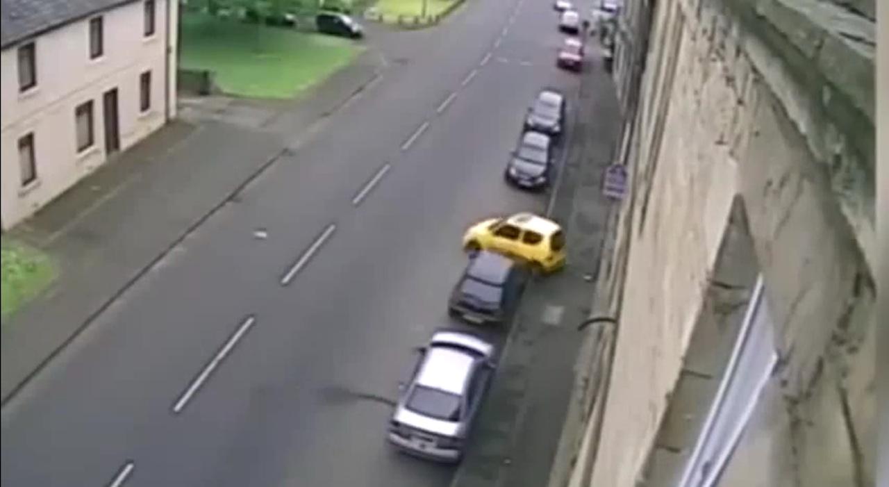 peor aparcamiento Escocia
